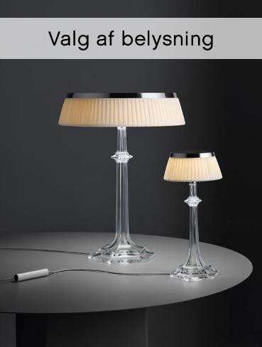 Valg af belysning