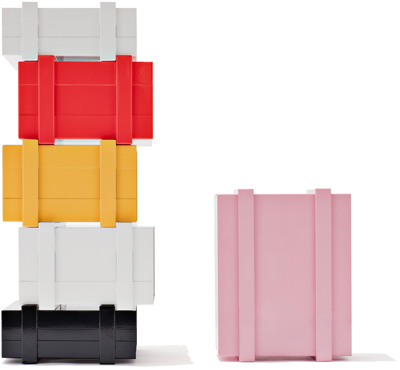 Colour Stack - Designed by Henriette W Leth